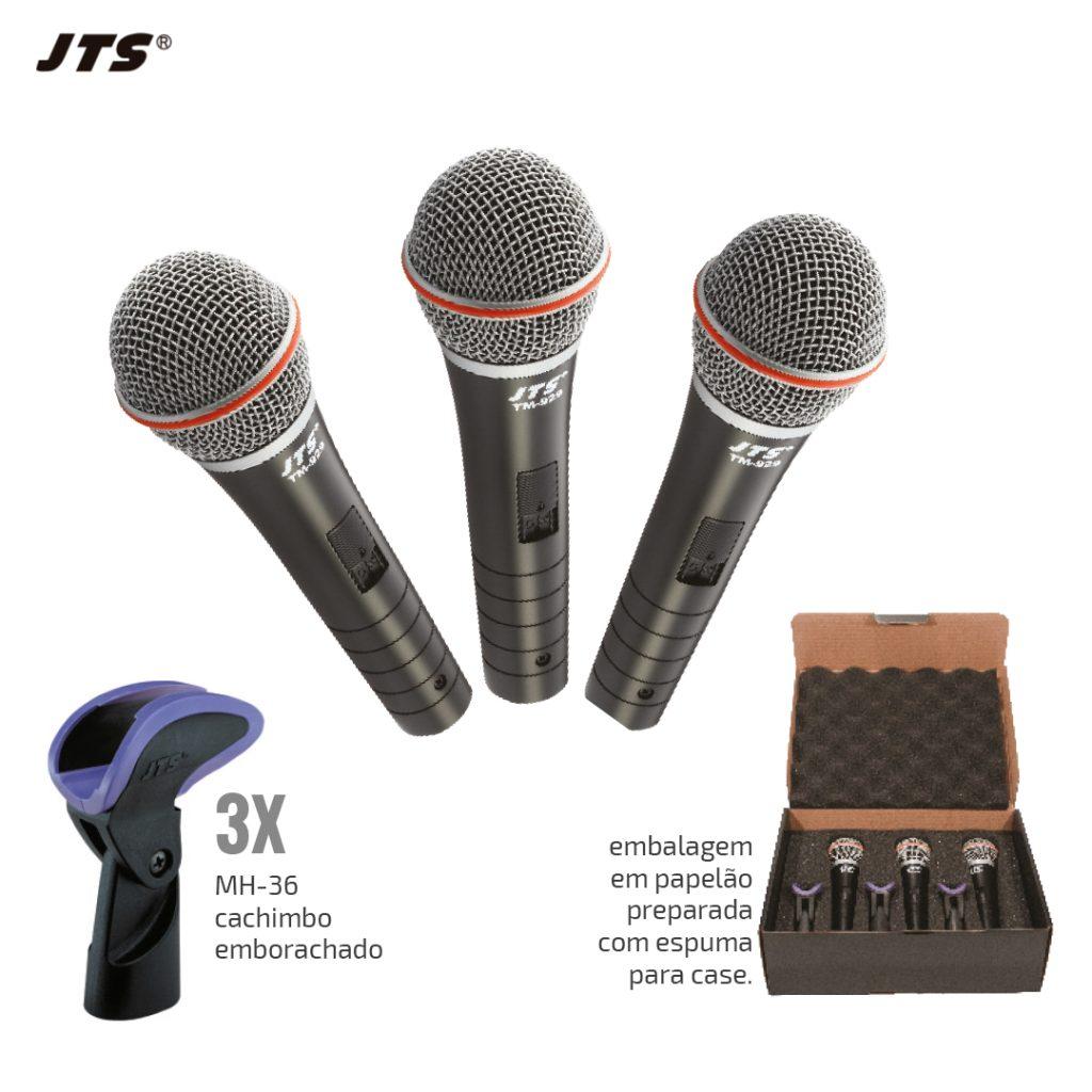 KIT MICROFONE VOCAL