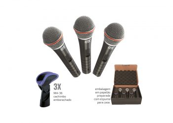 KIT MICROFONE VOCAL