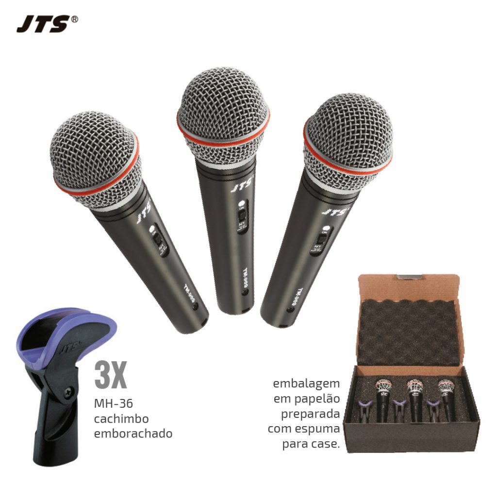 KIT DE MICROFONE VOCAL