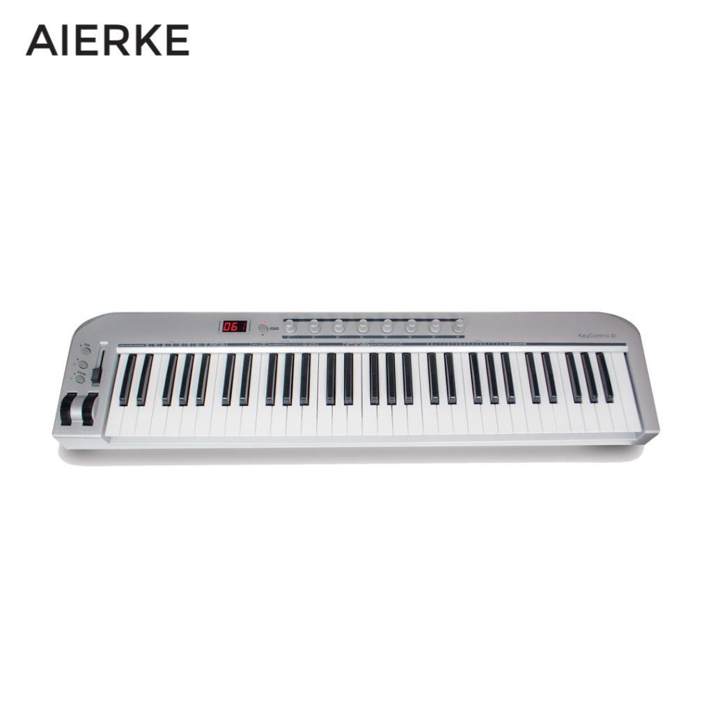 CONTROLADOR MIDI 61 TECLAS AIERKE