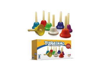 JOGO DE SINOS MUSICAIS TURBINHO